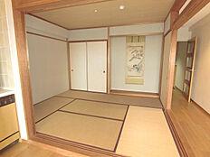 落ち着きのある和室です。