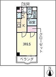 Enamユーアイ[5階]の間取り