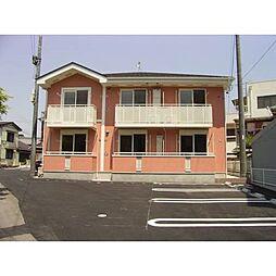 愛知県岡崎市元能見町の賃貸アパートの外観