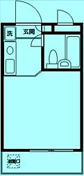 モナークマンション溝の口第2[3階]の間取り