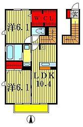Strahl[2階]の間取り
