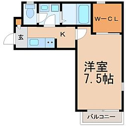 湘南メゾンK[2階]の間取り