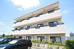 愛知県名古屋市天白区島田が丘の賃貸アパートの外観
