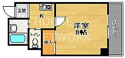 ドエル1号館S・Y[2-B号室号室]の間取り