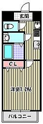 レクシア栄橋[4階]の間取り