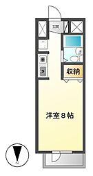 FIRST尼ケ坂[2階]の間取り