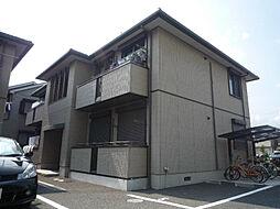 大阪府高槻市日向町の賃貸アパートの外観