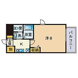 唐人町駅 4.6万円