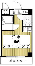 東京都墨田区向島1丁目の賃貸マンションの間取り