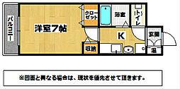 シティルーム都[1階]の間取り