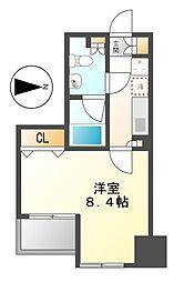 グラン・アベニュー栄[5階]の間取り