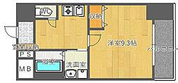 北大阪急行電鉄 桃山台駅 徒歩8分の賃貸マンション 3階1Kの間取り