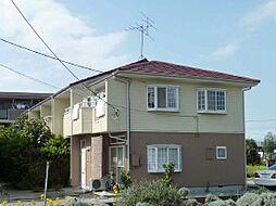 千葉県我孫子市東我孫子の賃貸アパートの外観
