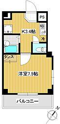 アネシス新大阪[1201号室]の間取り