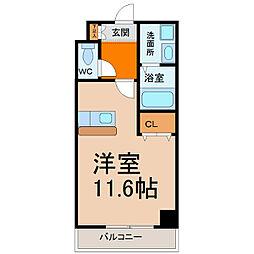 メゾンカルム[2階]の間取り