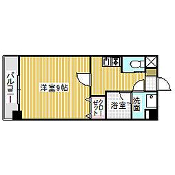 愛知県名古屋市港区東海通3丁目の賃貸マンションの間取り