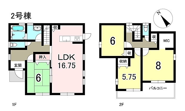 4LDK+S 土地141.44m2 建物105.58m2