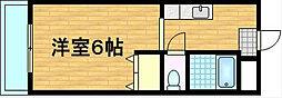 パレ南笠佐わらび[311号室]の間取り