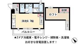 新川橋駅 5.2万円