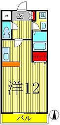 モアルヤタ藤[3階]の間取り