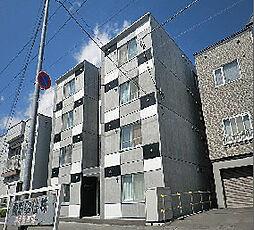 北海道札幌市東区北十八条東8丁目の賃貸マンションの外観