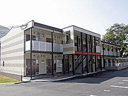兵庫県神戸市北区山田町下谷上芝山の賃貸アパートの外観