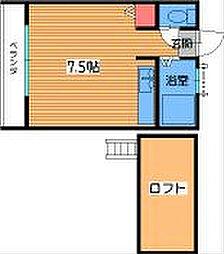 ソレイユ七隈I[1階]の間取り