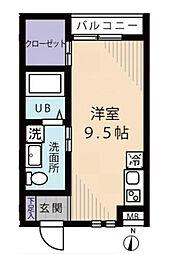 HIWARI HOUSE[3階]の間取り