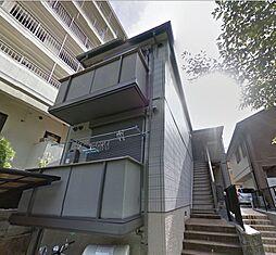 京都府京都市左京区鹿ケ谷上宮ノ前町の賃貸アパートの外観