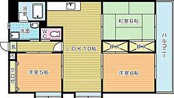 Fビル[3階]の間取り