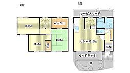 [テラスハウス] 兵庫県姫路市宮上町1丁目 の賃貸【/】の間取り