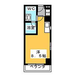 翔うらら[8階]の間取り