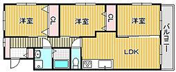 メゾン乙女通り[105号室]の間取り