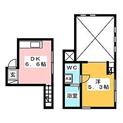 Mnet1[2階]の間取り