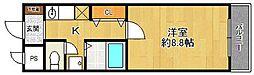 ソフィア2[1階]の間取り