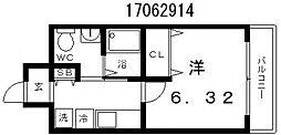 スカーラ昭和[7階]の間取り
