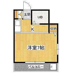 スイトピー桃山[1階]の間取り