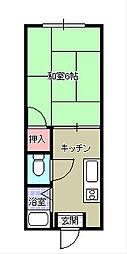 第5ACハイム[2階]の間取り