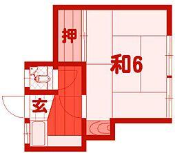 ABCハイツ[2階]の間取り