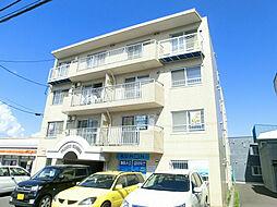 北海道札幌市豊平区西岡二条8丁目の賃貸マンションの外観
