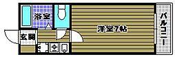 カーサ・ミガタ[3階]の間取り