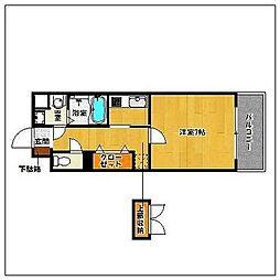 SKコーポ03[3階]の間取り