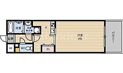 ルネスパル[2階]の間取り