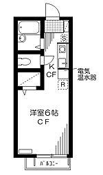 メゾンボヌール[1階]の間取り