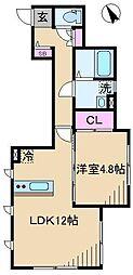 [一戸建] 東京都北区中里3丁目 の賃貸【/】の間取り