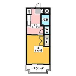 MAISON SOLEIL[3階]の間取り