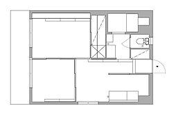 杉の宮マンション[3階]の間取り