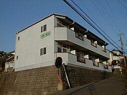広島県東広島市西条町田口の賃貸アパートの外観