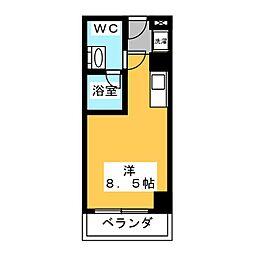 翔うらら[7階]の間取り
