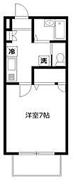 ファミール富士見[102号室]の間取り